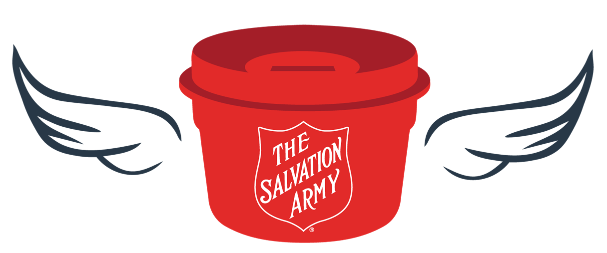 graphic black and white stock Salvation army clipart.  collection of kettle