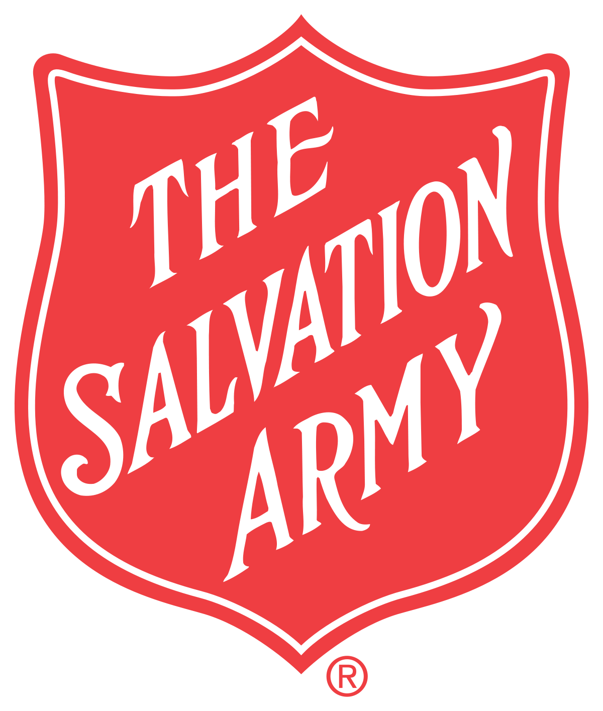 banner black and white stock The Salvation Army