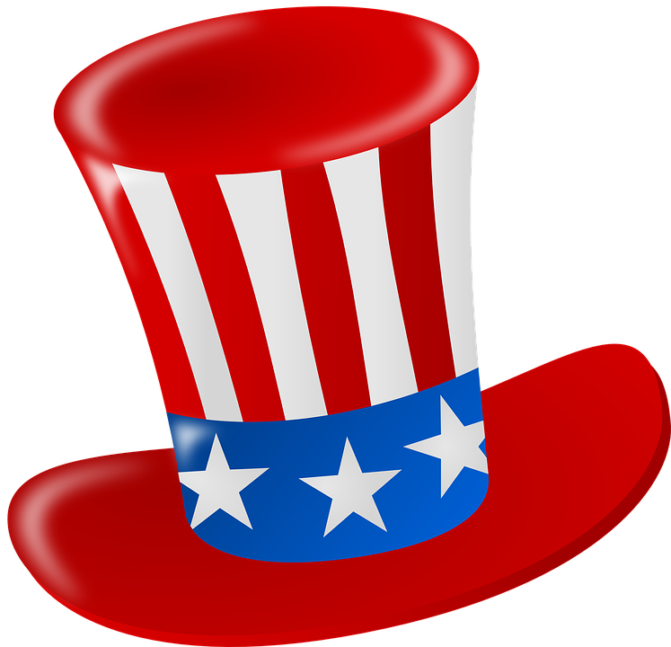 graphic free download Beard clipart uncle sam. Hat america free vector