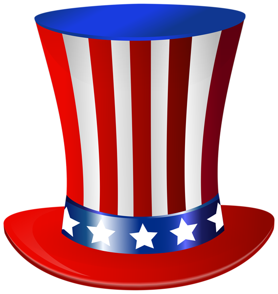 svg transparent library Hat png clip art. Beard clipart uncle sam.