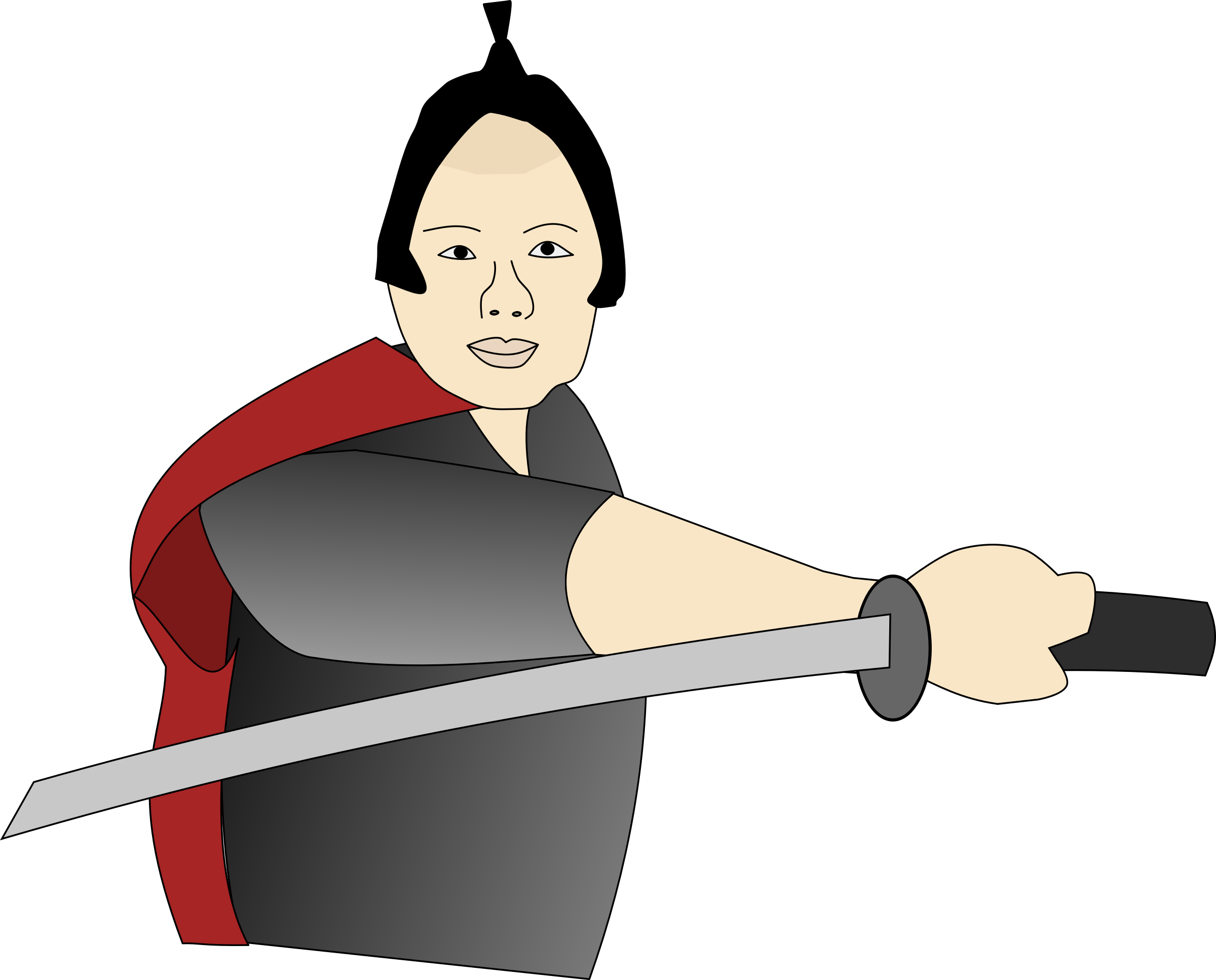 clip art library Guy big image png. Samurai clipart.