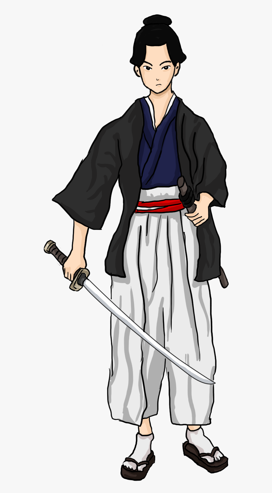 png download Free to use public. Samurai clipart.