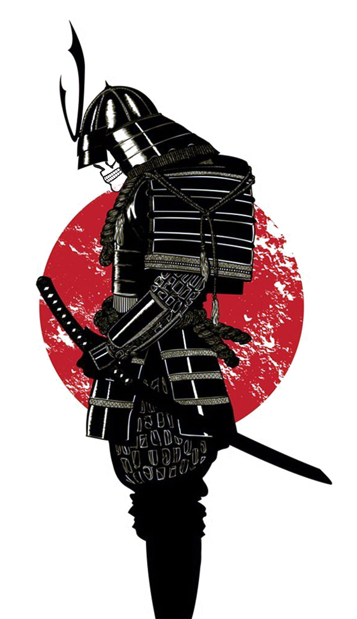 vector library library Samurai PNG Image