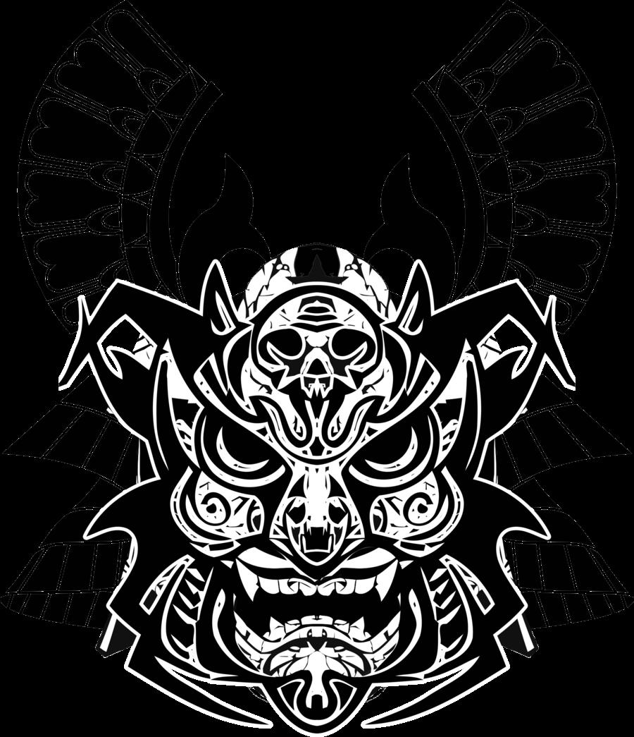 picture transparent stock Samurai Mask Drawing at GetDrawings