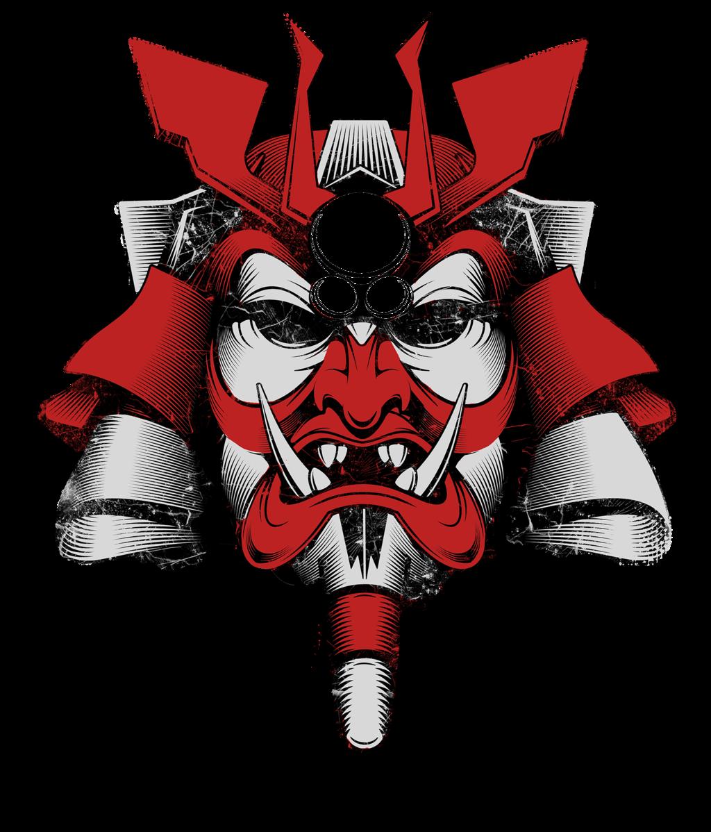 clip art free stock Samurai Mask of Doom by BurningEyeStudios