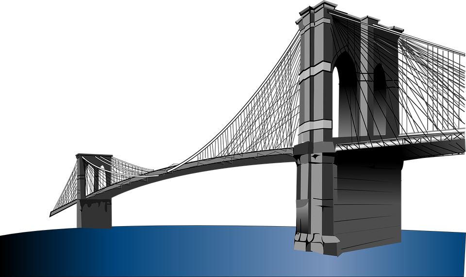 svg black and white stock Bridge Graphics Image Group