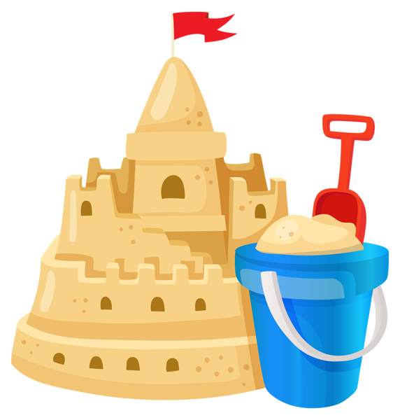 stock Sand Castle PNG Image
