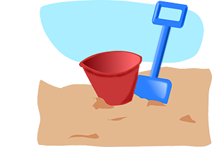 svg stock Sand centre free on. Wet clipart wet kid