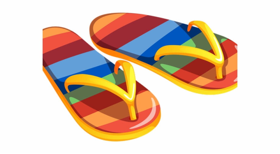 graphic royalty free download Sandals clipart. Beach clip art transparent.