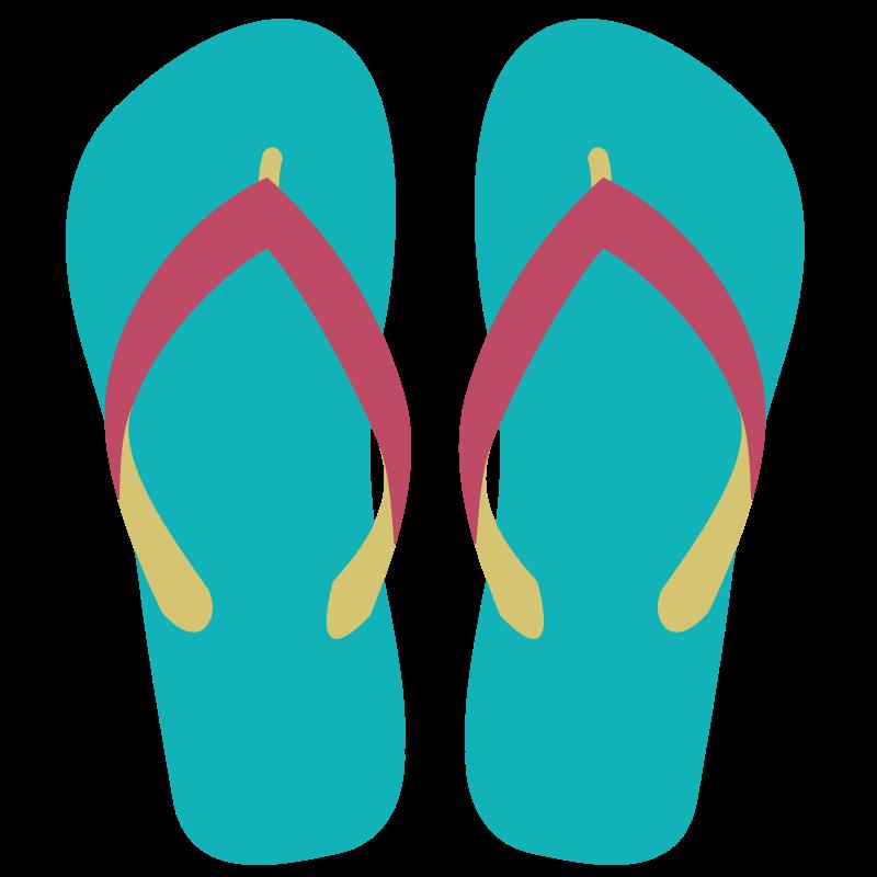 clip transparent download Flip flops clipart. Summer sandals .