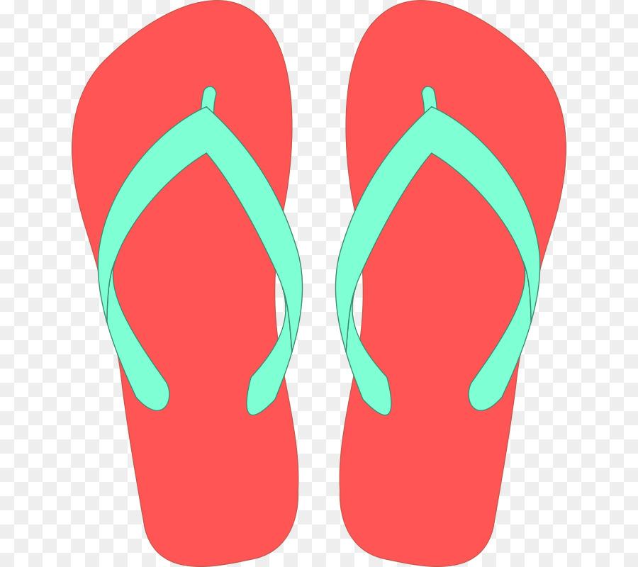 vector royalty free download Slipper flip flops clip. Sandals clipart.