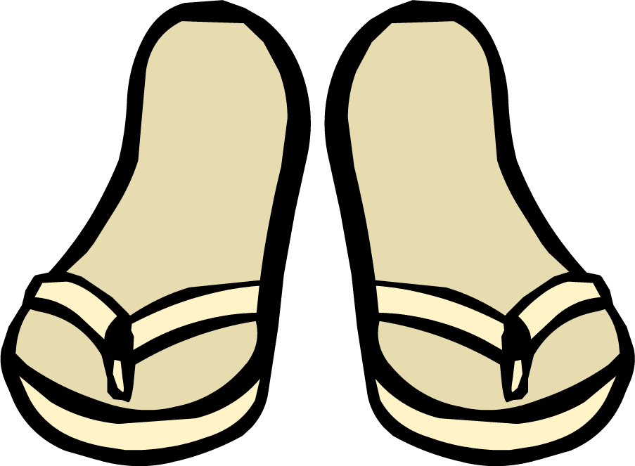 clipart transparent download Cream Sandals