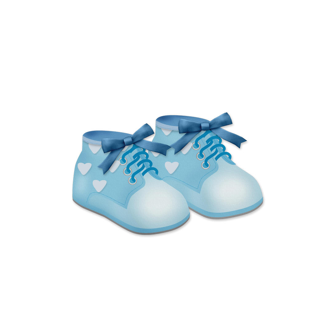 vector freeuse download Baby Boy Shoes