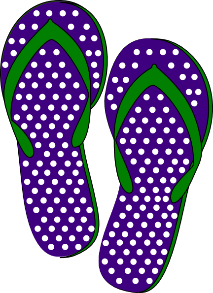 svg freeuse Sandals cliparts