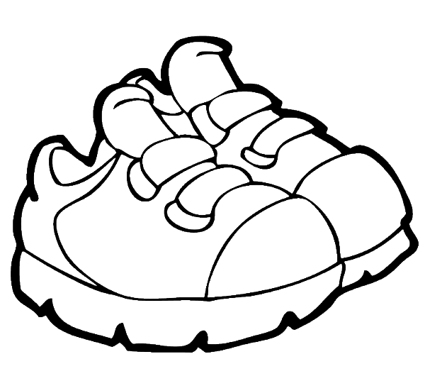 jpg library library Shoe Drawing For Kids at GetDrawings