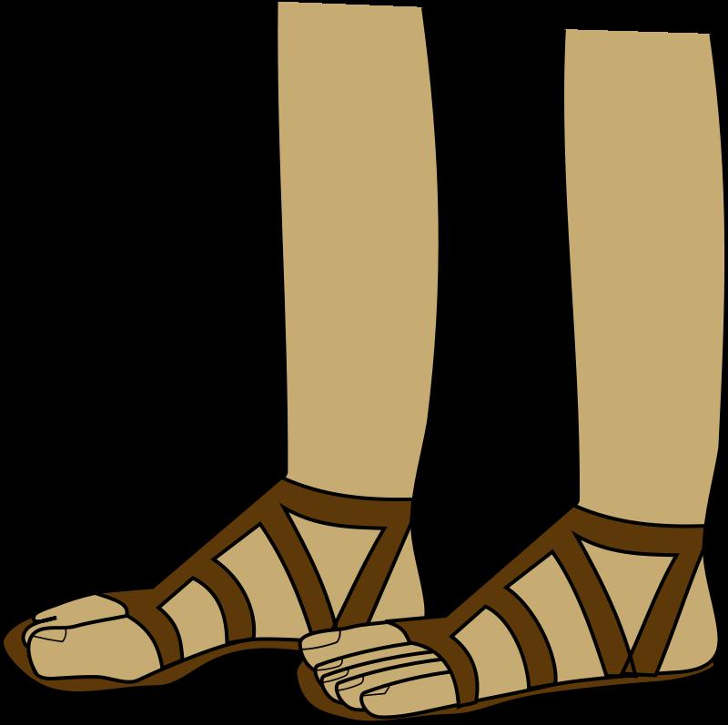 jpg freeuse Sandals clipart greek sandal. Free cliparts download clip
