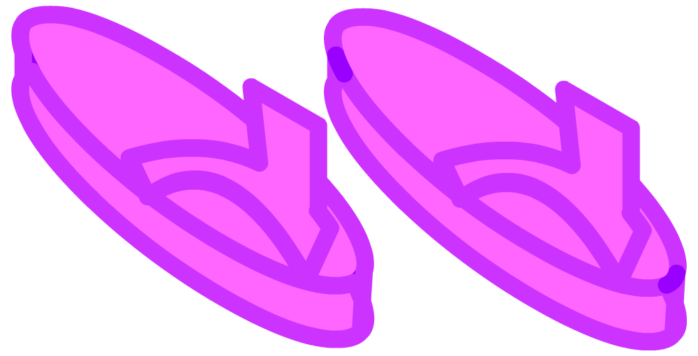 vector download sandals clipart purple #82873880