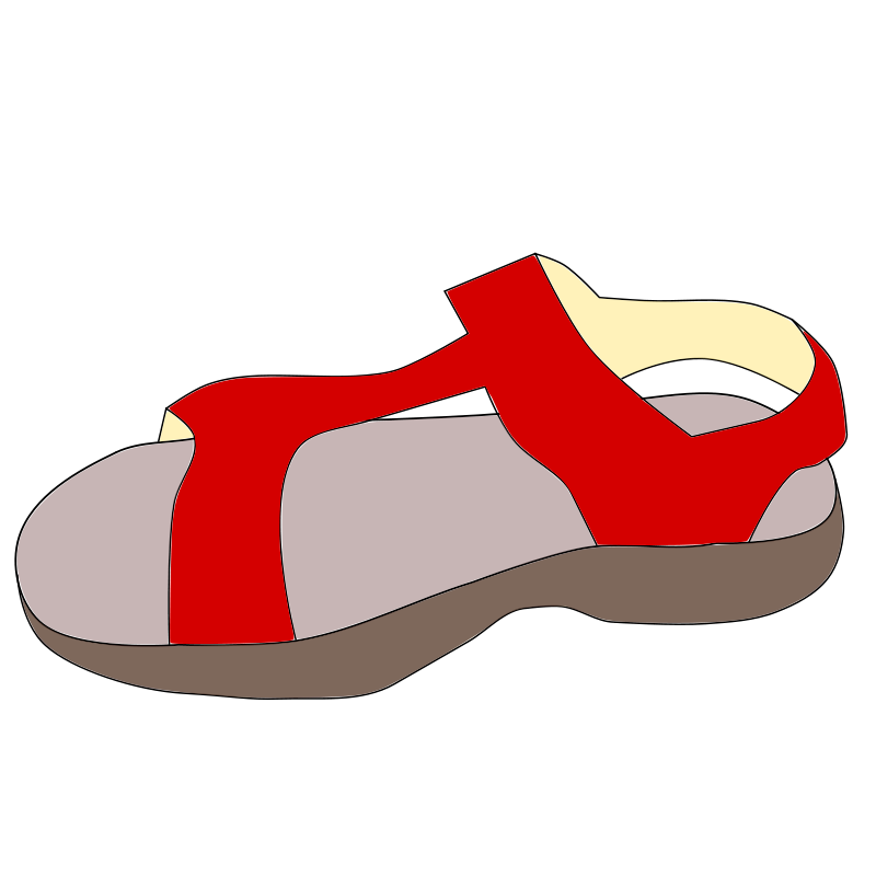 image royalty free sandals clipart sleeper #82873578