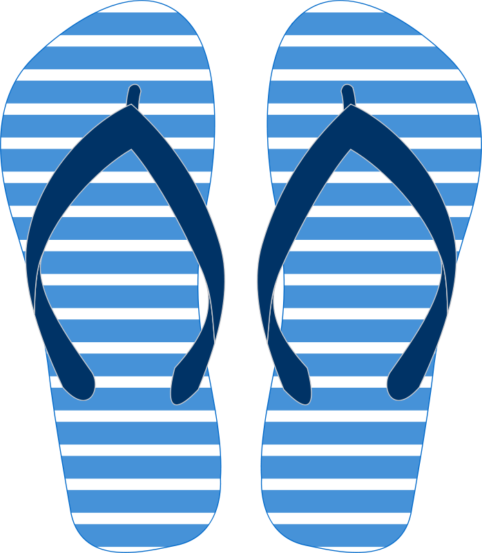 picture freeuse stock Flip Flop Silhouette Clip Art at GetDrawings