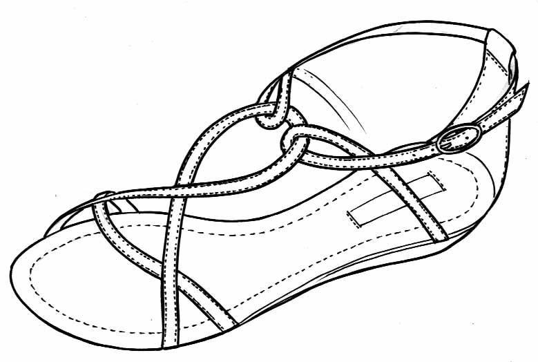 svg freeuse download Drawing sneakers sandal. Pin by sarah dhooma
