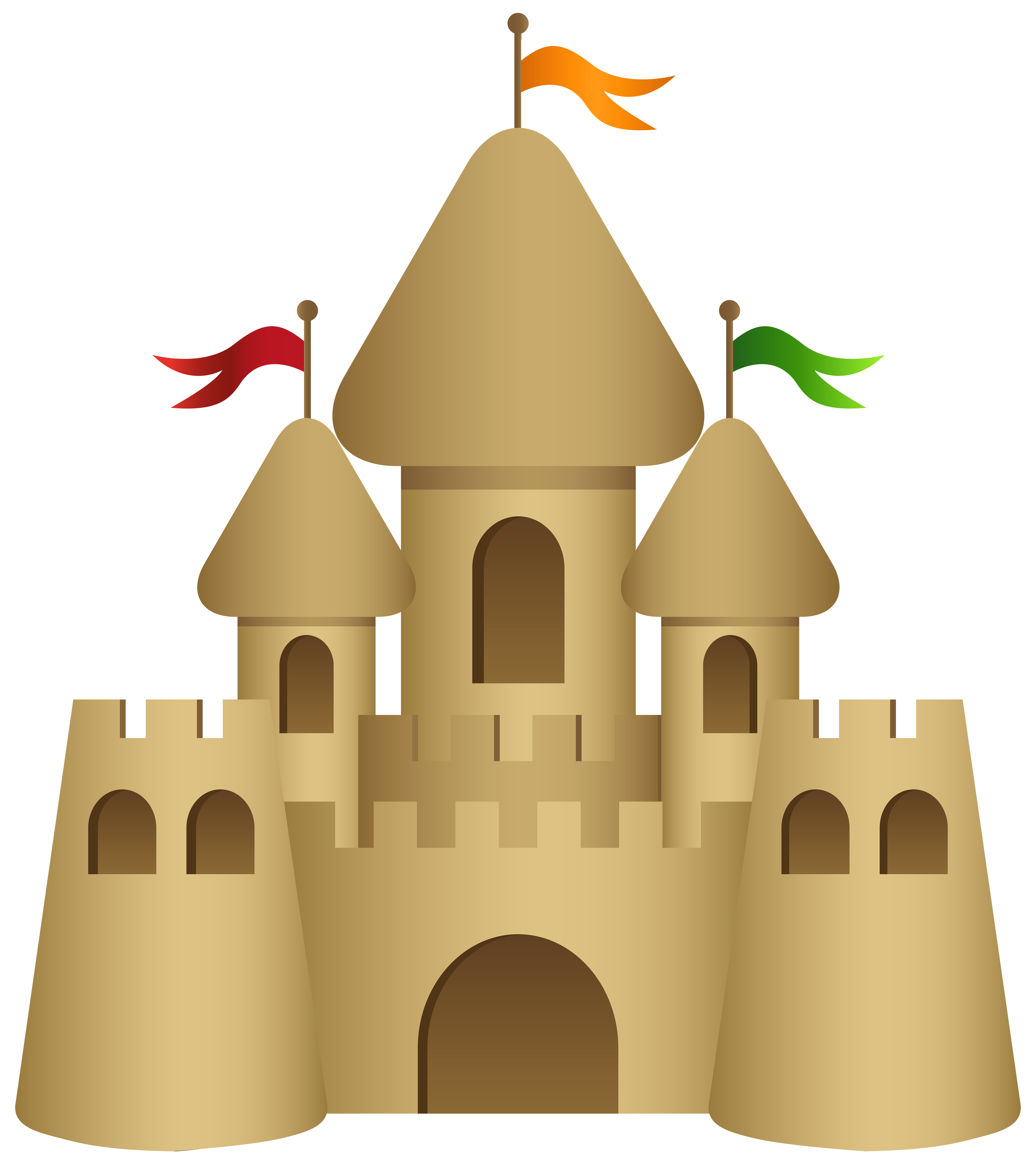 image freeuse Sand castle transparent png. Sandcastle clipart.