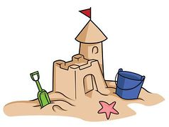 vector freeuse download Sandcastle clipart. Free sand castle cliparts.