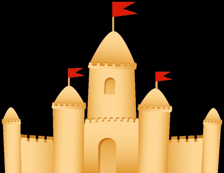 clip sand castle png