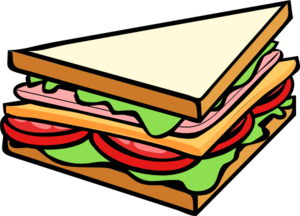 freeuse stock Clip art free panda. Sandwich clipart.