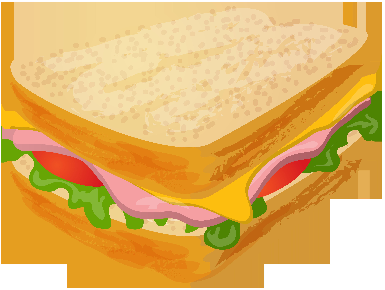 picture transparent Transparent png clip art. Sandwich clipart.
