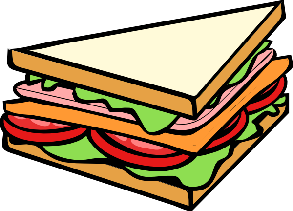 graphic library download Http images clipartpanda com. Piece clipart sandwich