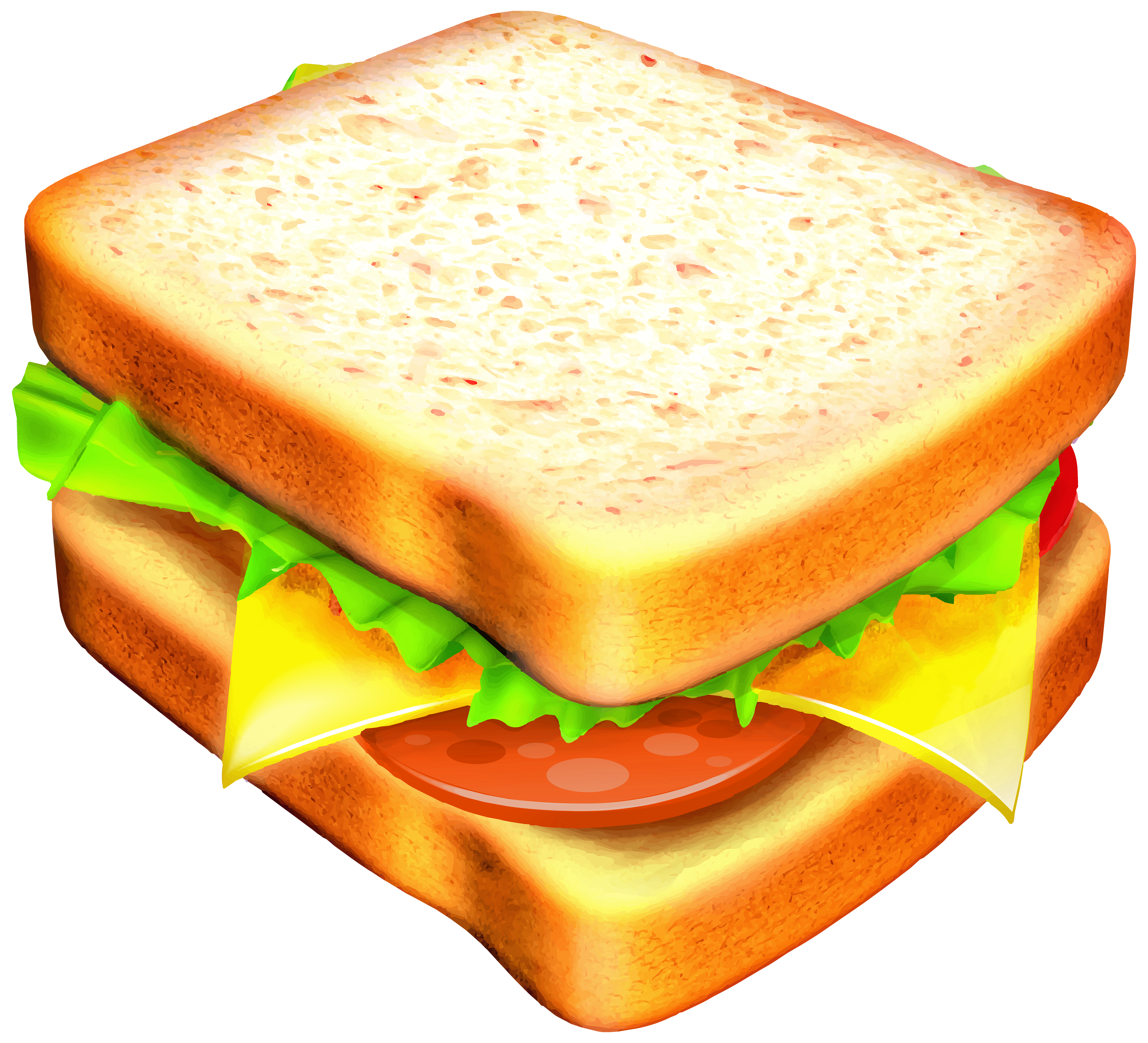 banner freeuse library Piece clipart sandwich. Transparent png image gallery