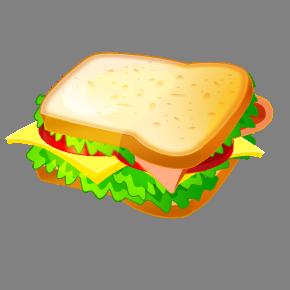clip black and white Clip art free panda. Sandwich clipart.
