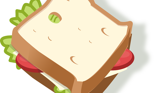 graphic royalty free Sandwich Clipart tuna sandwich