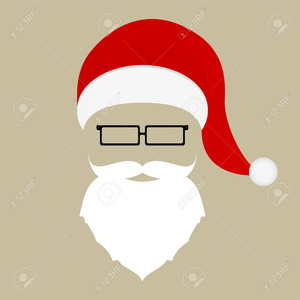 picture free Free images at clker. Santa beard clipart
