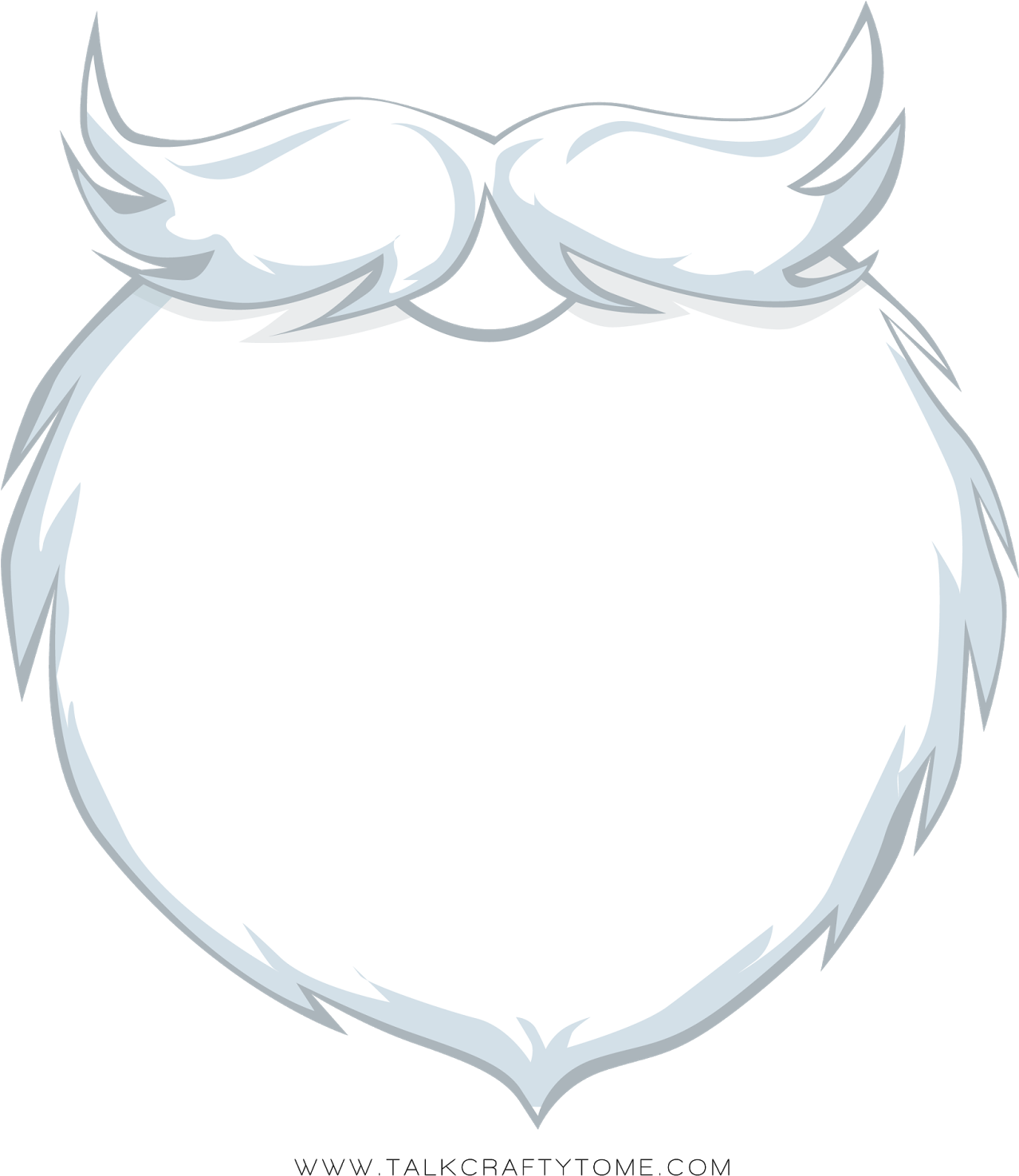 picture royalty free library Santa beard clipart. Hd png transparent no