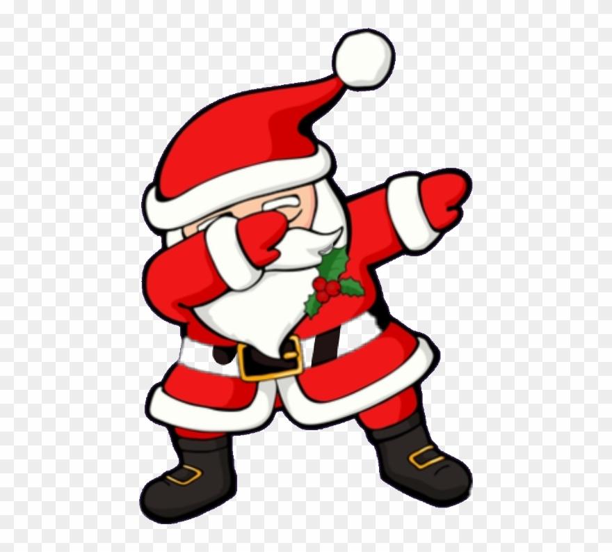 image free download Dabbing pinclipart . Santa clipart
