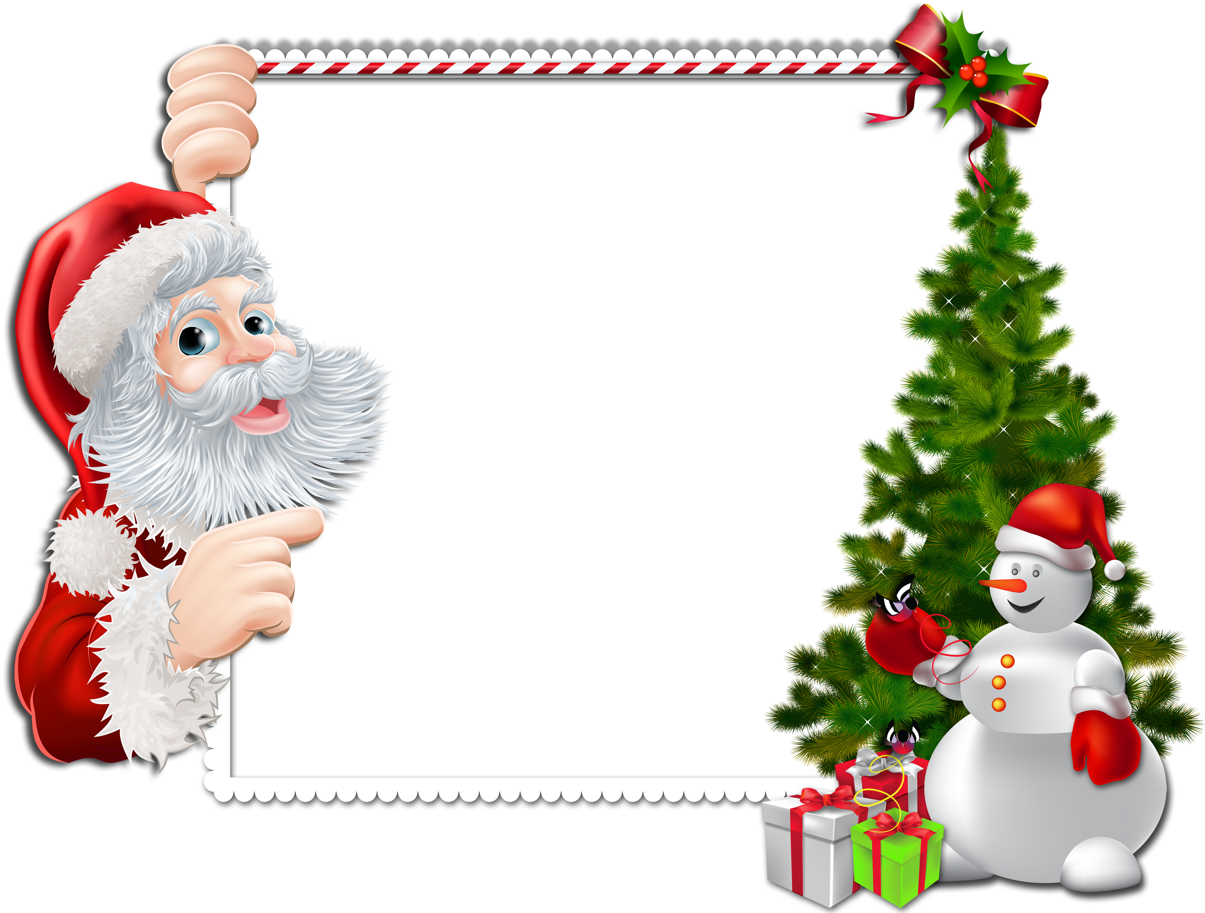 clip freeuse stock Snowman border clipart. Large christmas png frame