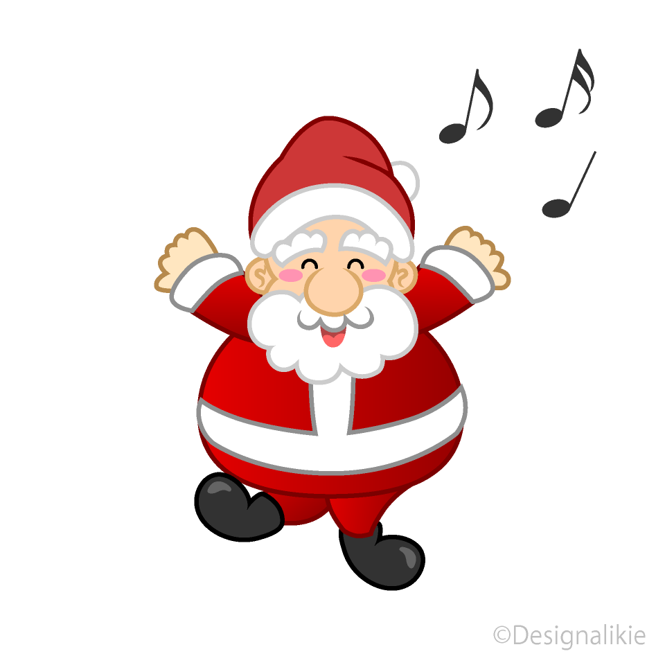 clip free download Santa clipart. Dancing free picture illustoon.
