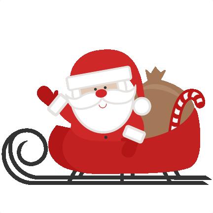 banner royalty free download Cute Santa Clipart at GetDrawings