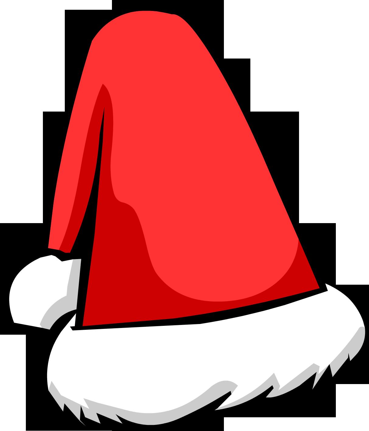 picture black and white Club penguin wiki fandom. Beard clipart santa hat