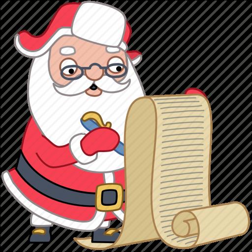 svg free Santa Sticker Set