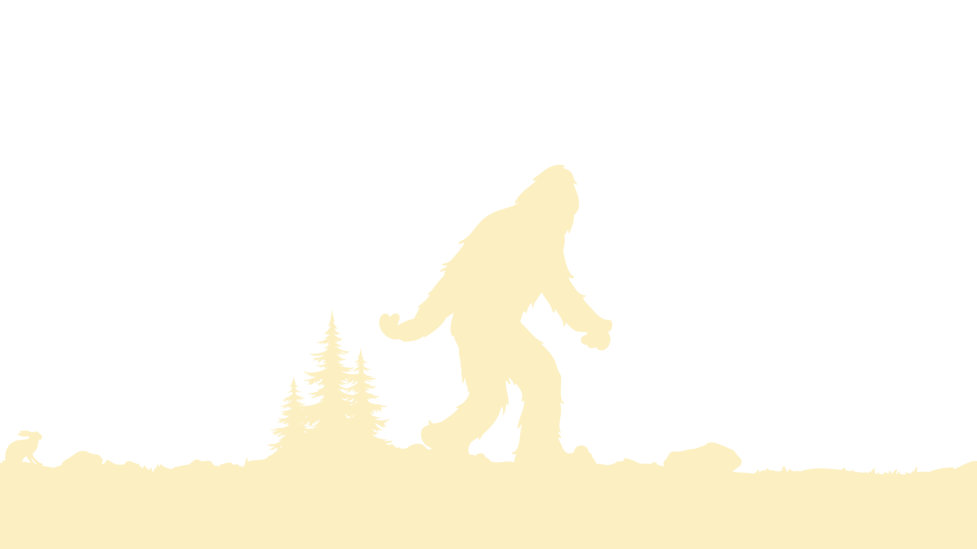 clipart royalty free stock Yeti Silhouette at GetDrawings