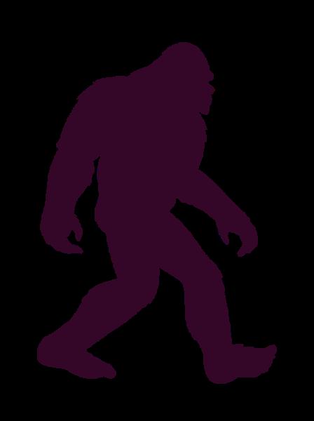 jpg transparent vector bigfoot images
