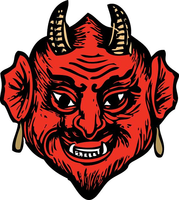 vector freeuse library Satan transparent. Png mart