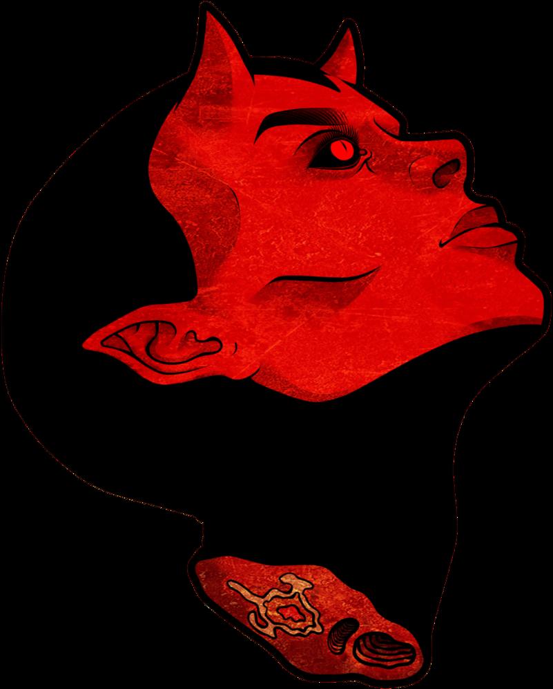 clipart royalty free Satan transparent. By psilocube on deviantart