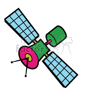 jpg library stock Satellite clipart. Illustration graphic royalty free
