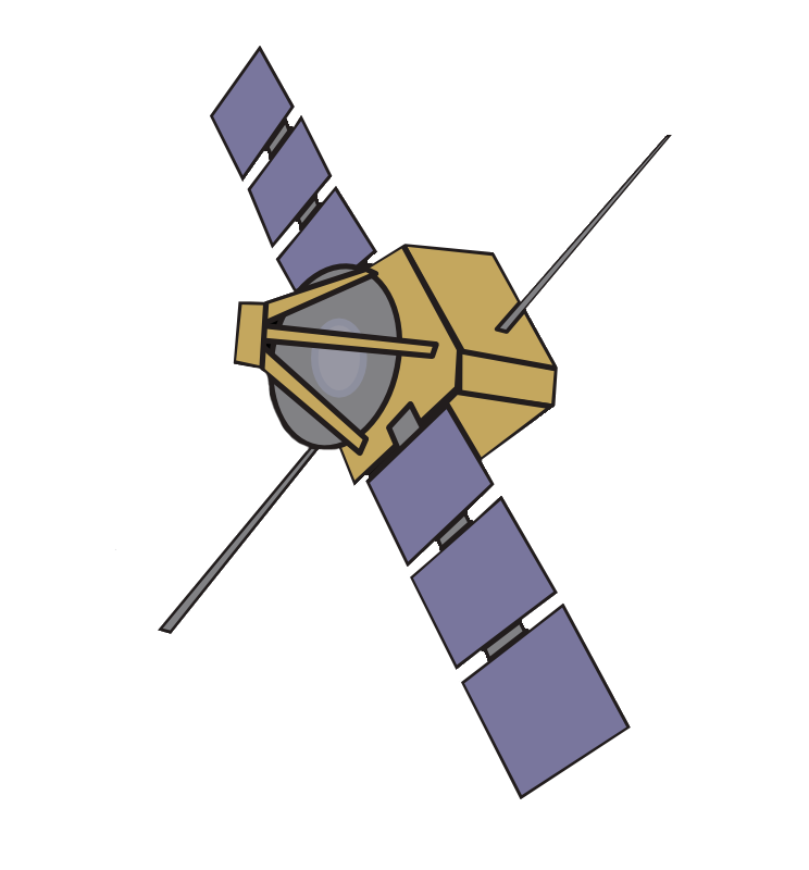 graphic royalty free Satellite clipart. Outline free on dumielauxepices.