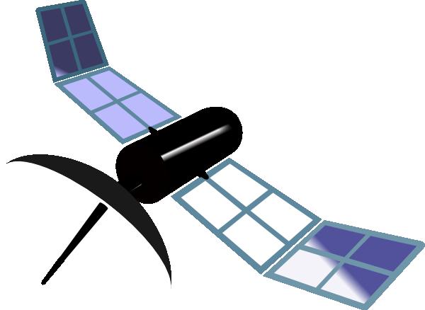 jpg black and white stock Clip art at clker. Satellite clipart