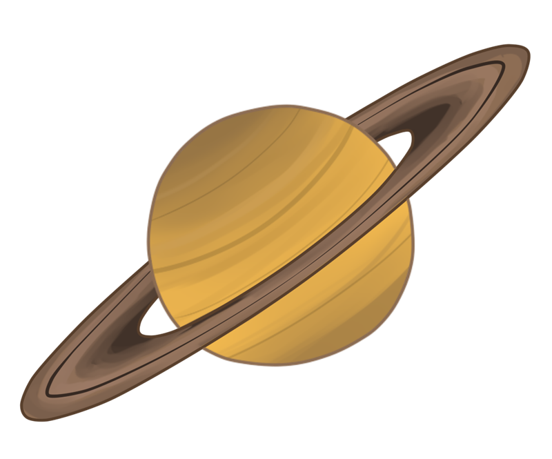 clip library . Saturn clipart