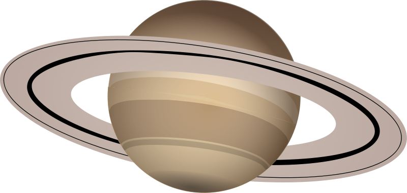 jpg library download Saturn clipart. Space theme moon stars